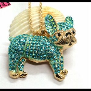 BETSEY JOHNSON~ DoGGy Necklace